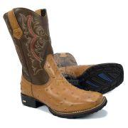 Bota Texana Avestruz Stevan Boots Masculina SV8972