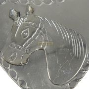 Coração para Peitoral Inox SV3032