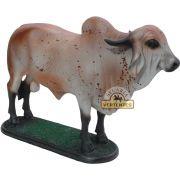 Escultura de Boi Gir SV8244