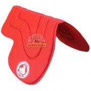 Manta Wester Meia Aba SV7966 - Vermelha