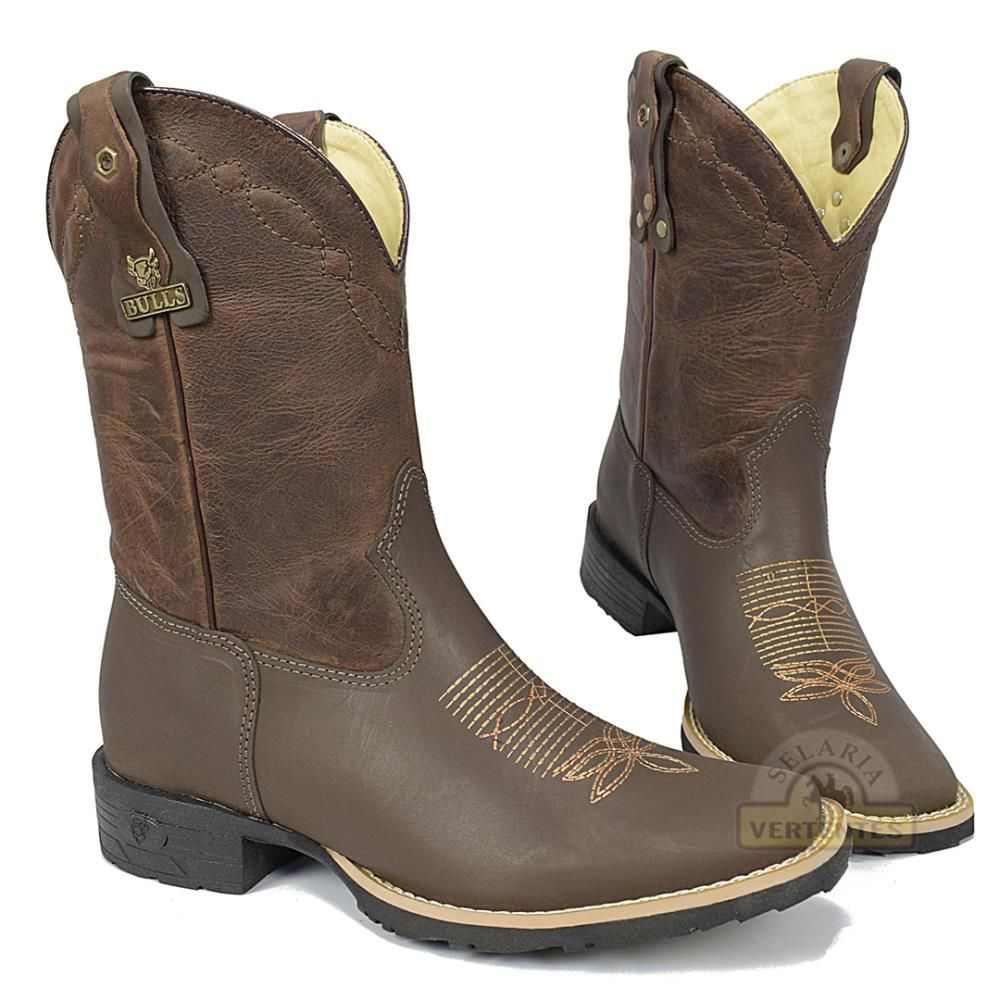 Bota Bulls Texana Brow Chocolate SV9139