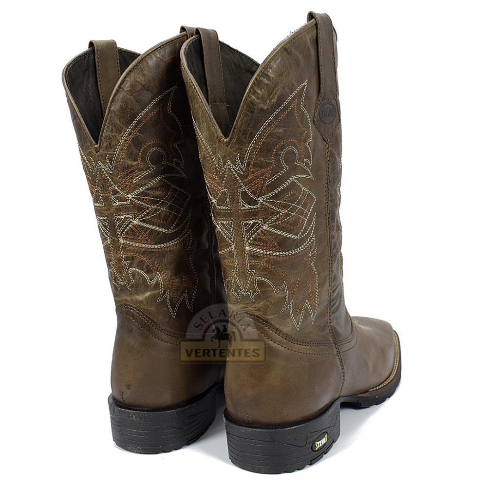 25390928638dd ... Bota Texana Stevan Boots Masculina SV8971 - Selaria Vertentes