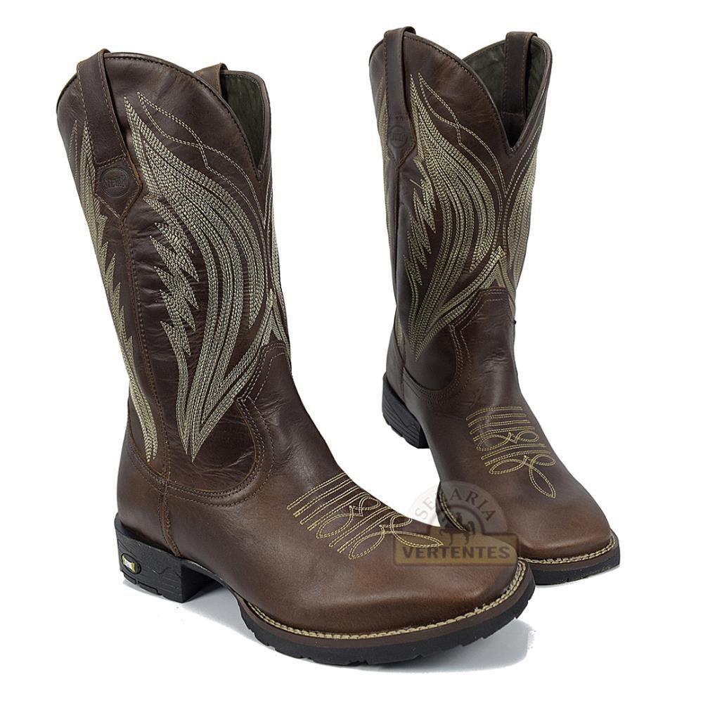 Bota Texana Stevan Boots Masculina SV8973