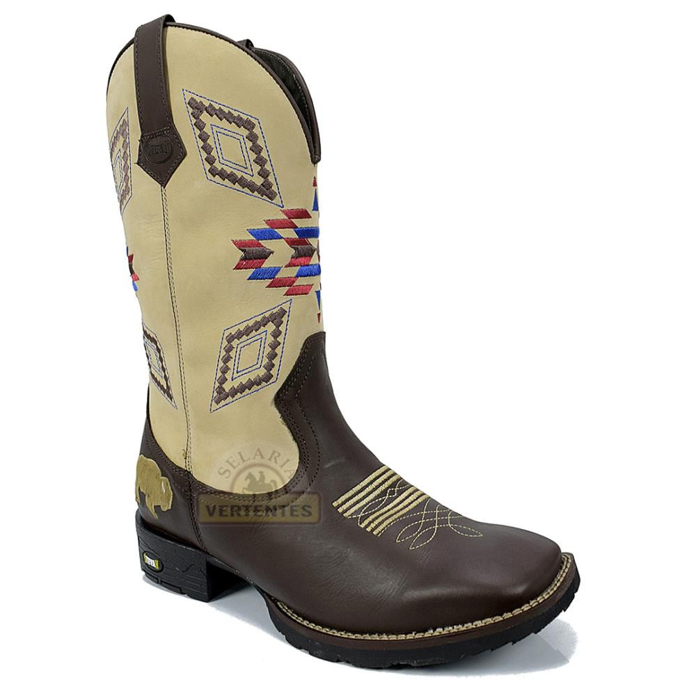 Bota Texana Stevan Boots Masculina SV8974