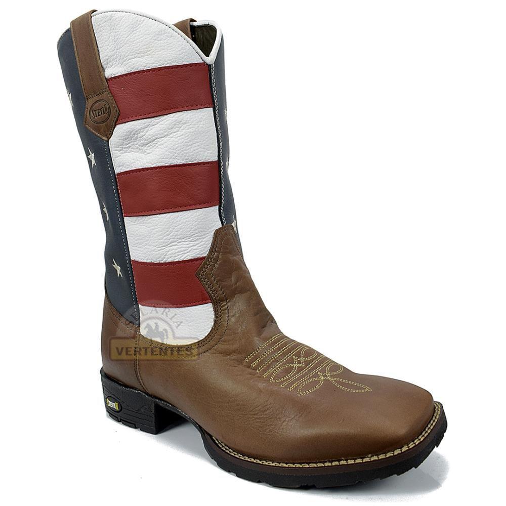 Bota Texana Stevan Boots Masculina SV8975
