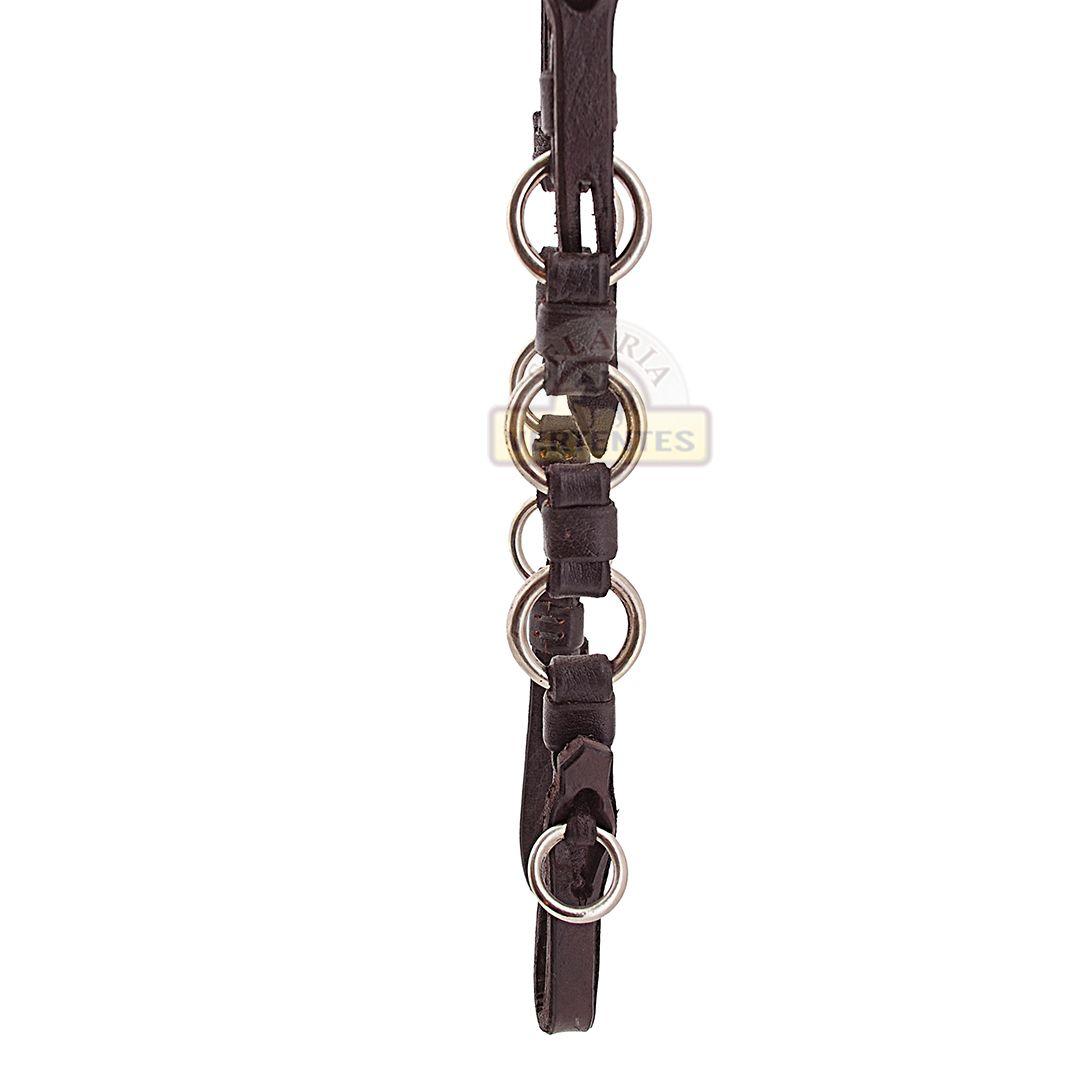 Cabeçada de Luxo SV3099 - Marrom