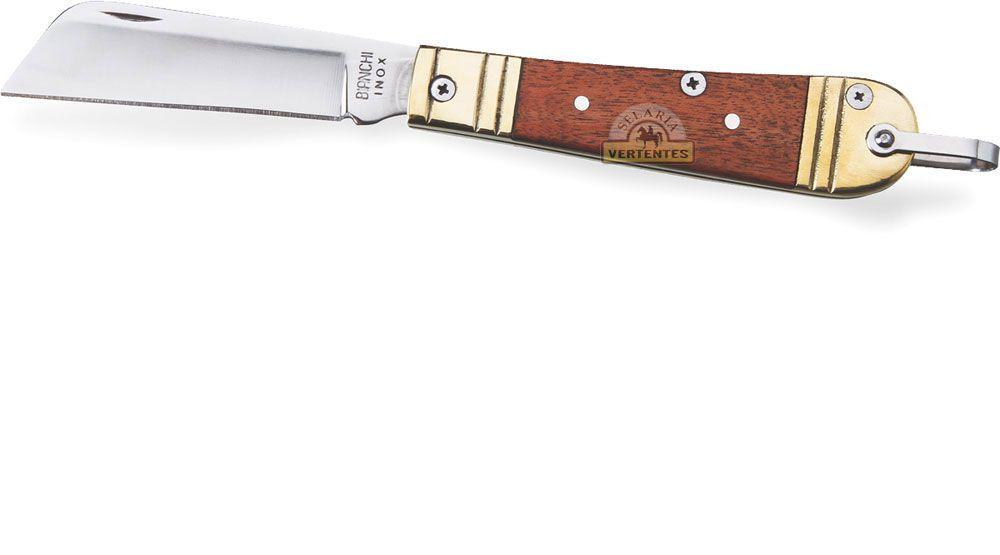 "Canivete Bianchi Rog Metal/Madeira 3 1/8"" SV10307"
