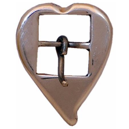 Fivela Coração de Bico 16mm SV0070