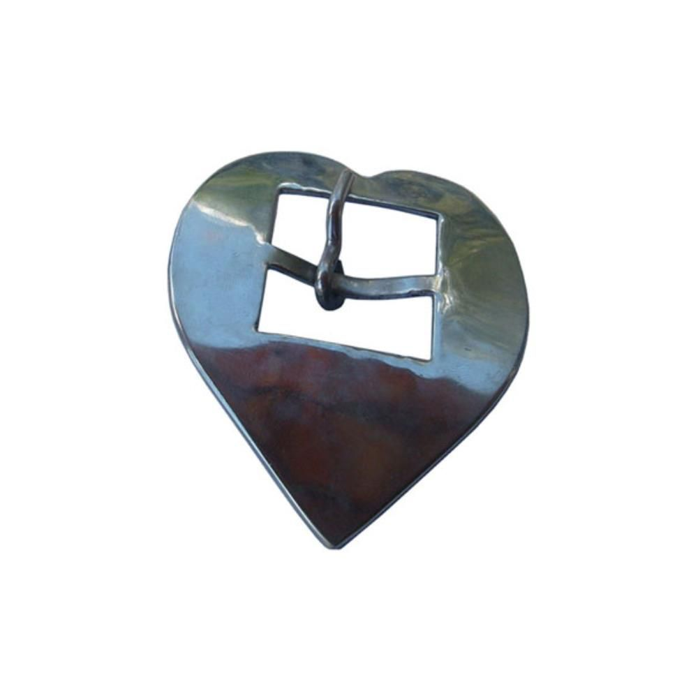 Fivela Coração Inox Nº 22 SV0029