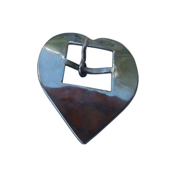 Fivela Coração Inox Nº 32 SV0030