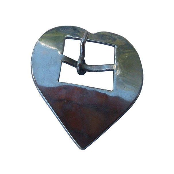 Fivela Coração Inox Nº 44 SV0031