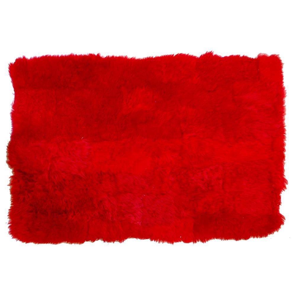 Manta Pelego SV7896 - Vermelho
