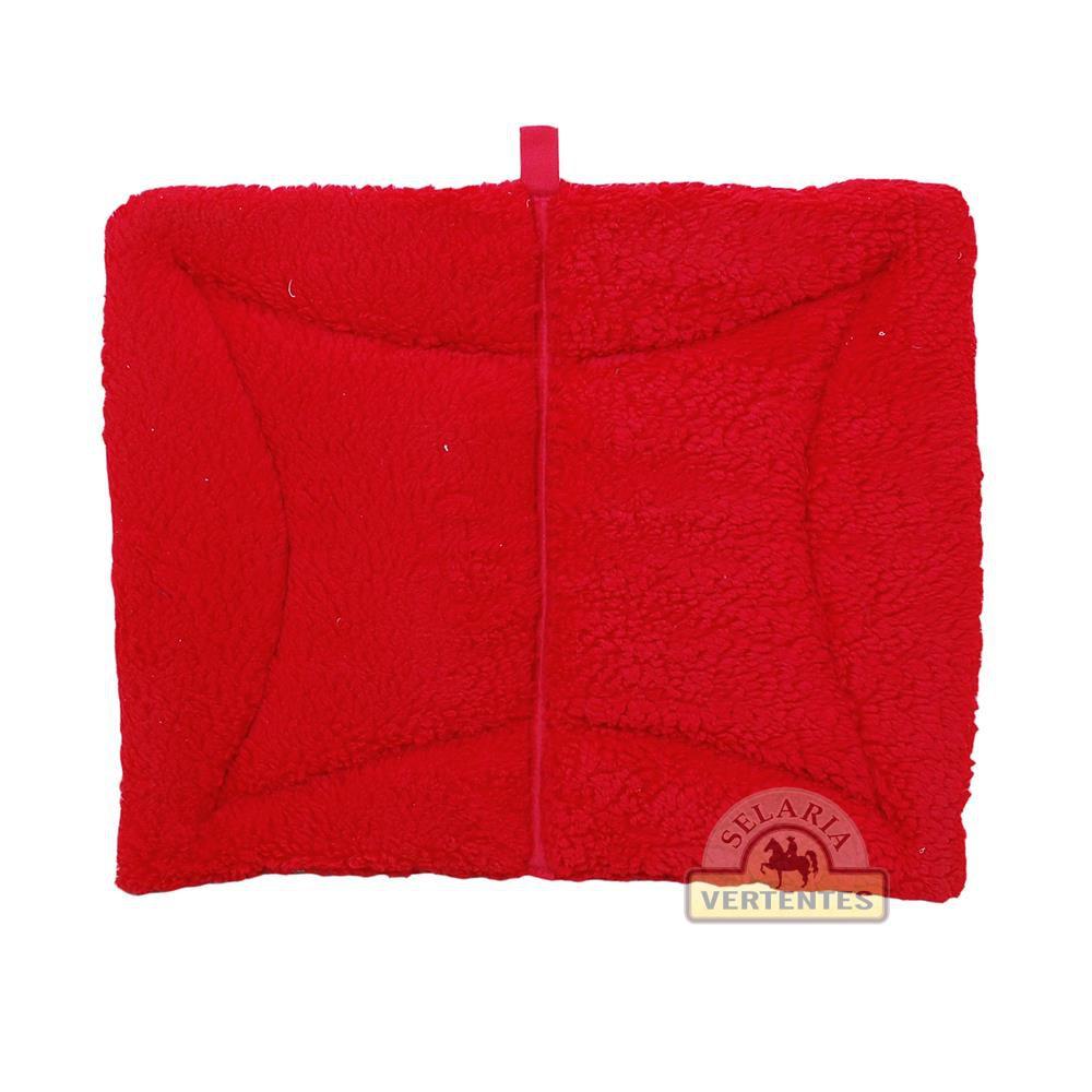 Manta Quadrada Infantil SV7917 - Vermelha