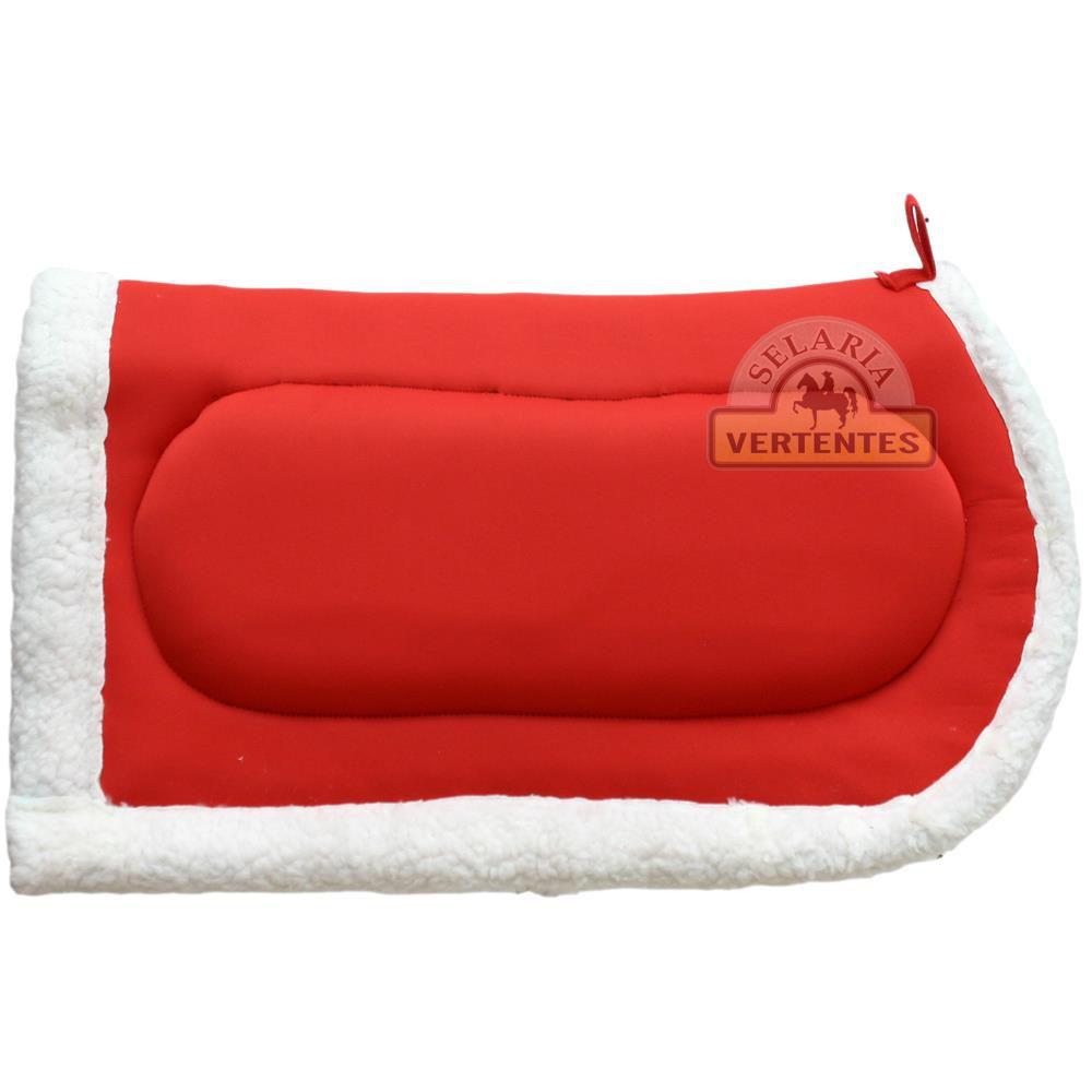 Manta Quarto de Milha de Neoprene SV7998 - Vermelha