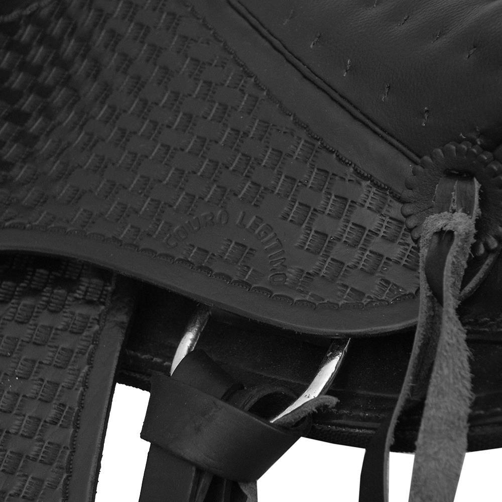Sela Australiana com Cabeça SV1445 - Preta