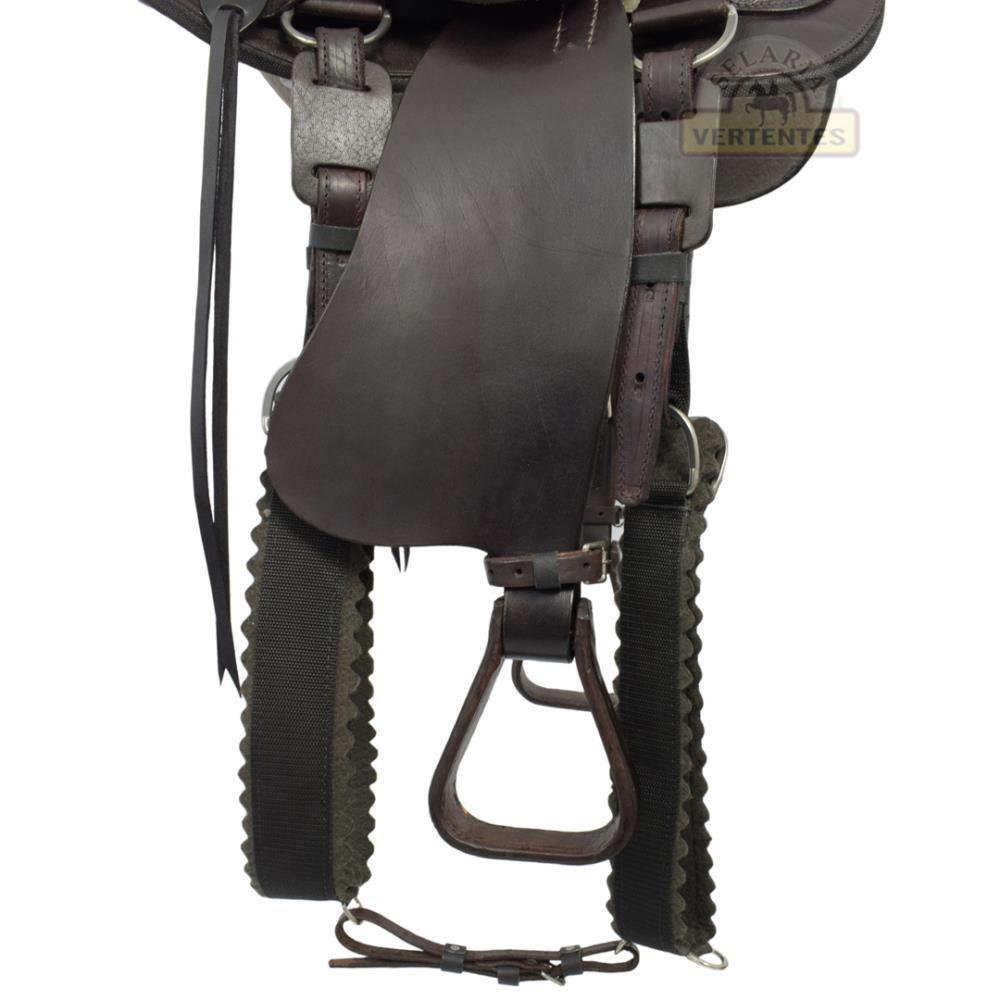 Sela Australiana São Bento com Cabeça SV1298 - Marrom