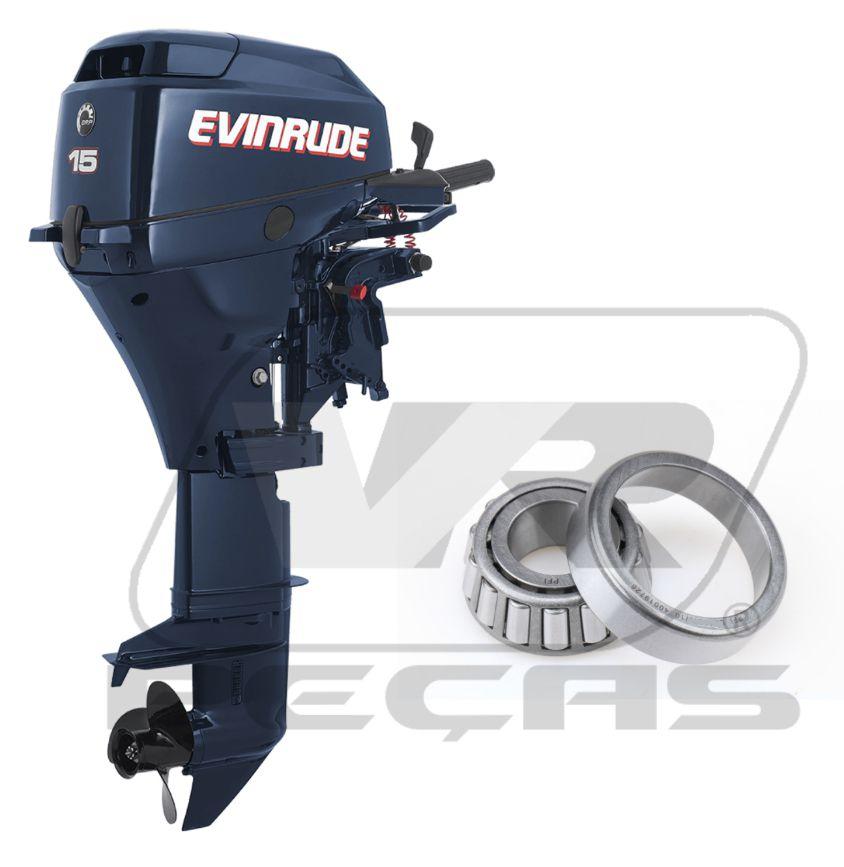 Rolamento Eixo Propulsão Motores Envirude de 8hp até 25hp