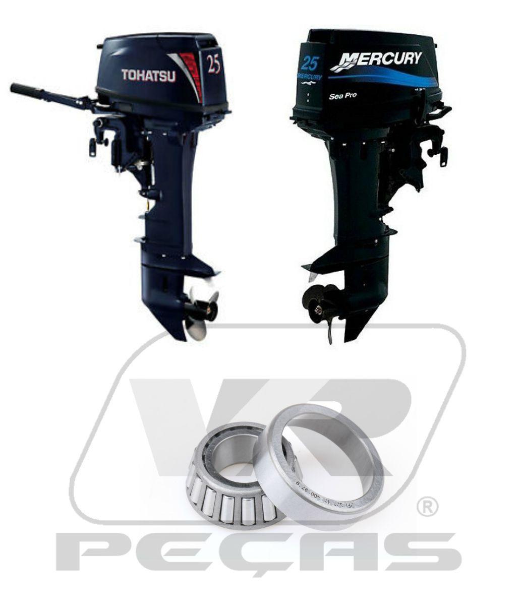 Rolamento Eixo Vertical Motores Mercury e Tohatsu 25HP/30HP