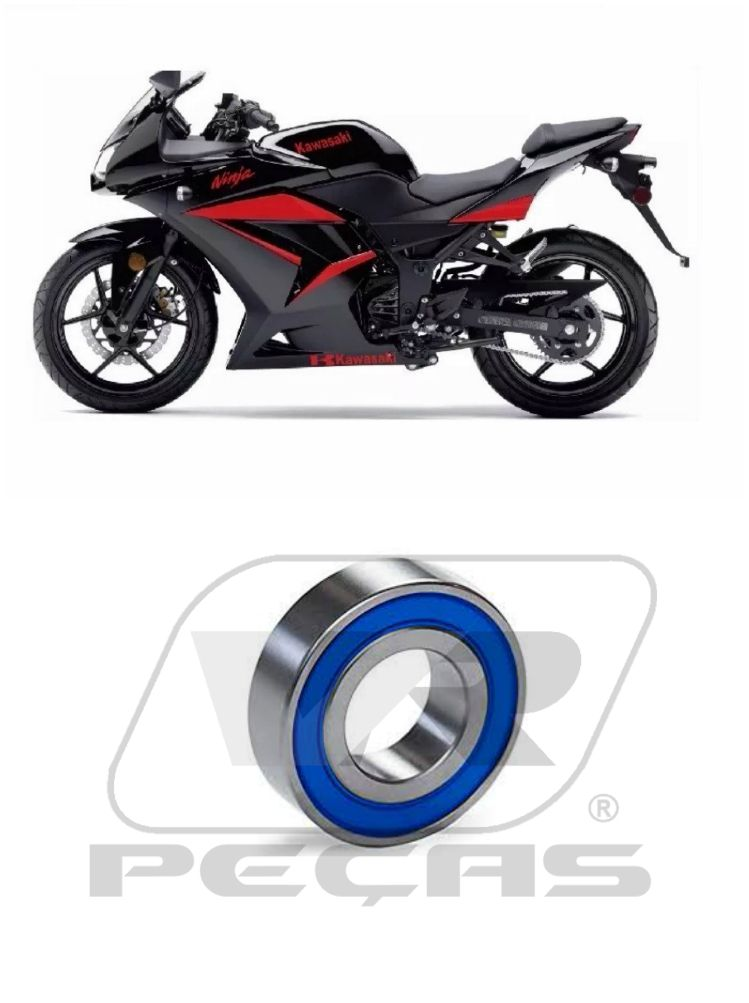 Rolamento Roda Dianteira KAWASAKI Ninja 250/300/500