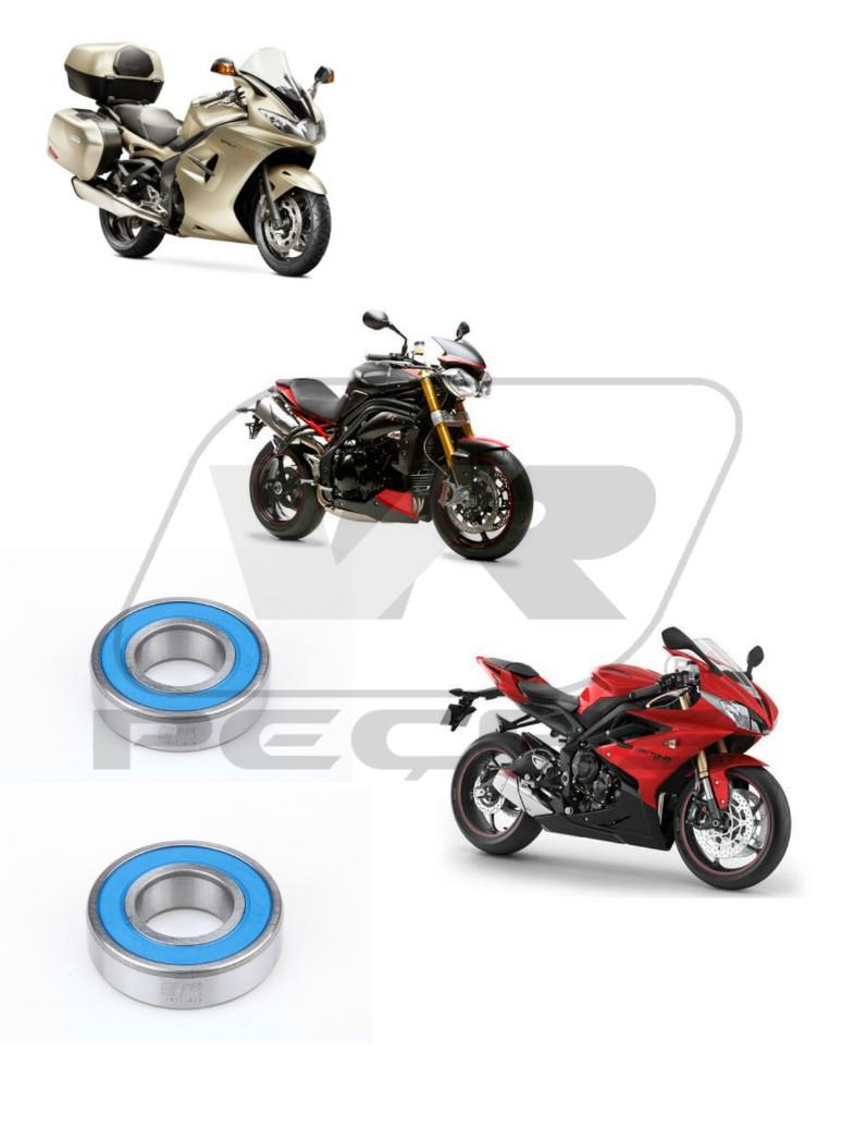 Rolamento Roda Dianteira Triumph Daytona e Speed Triple