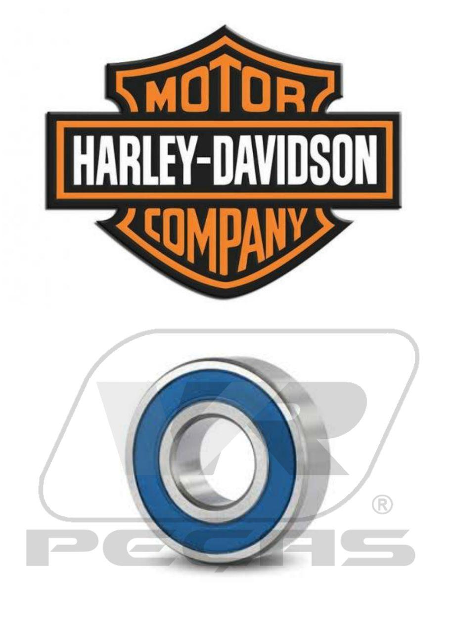 Rolamento Roda Harley Davidson 2008 á 2013,  9276