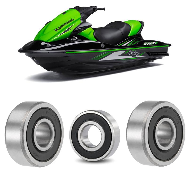 Rolamentos Turbina Jet Ski Kawasaki STX e SX-R de 2012 até 2020