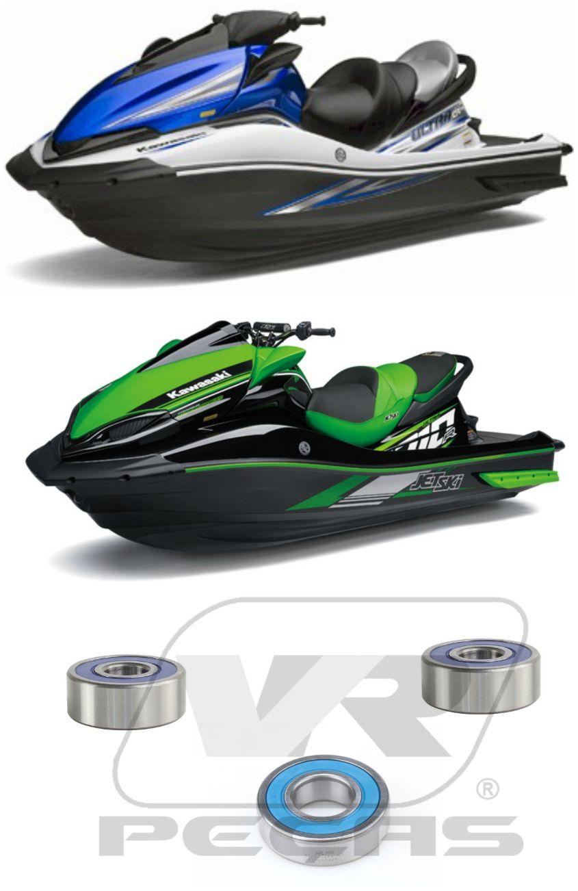 Rolamentos Turbina Jet Ski Kawasaki Ultra de 2008 até 2020