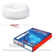 CABO FLEXIVEL RF 4MM + 2 X 26 AWG 95% CMX DUPLA BLINDAGEM COBRE
