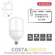 LAMPADA LED HIGH POWER 40W - 3600lm - 6500K - BRC FRIO