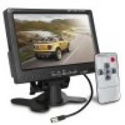 """MONITOR 7"""" LCD COLORIDO 2AV-IN"""