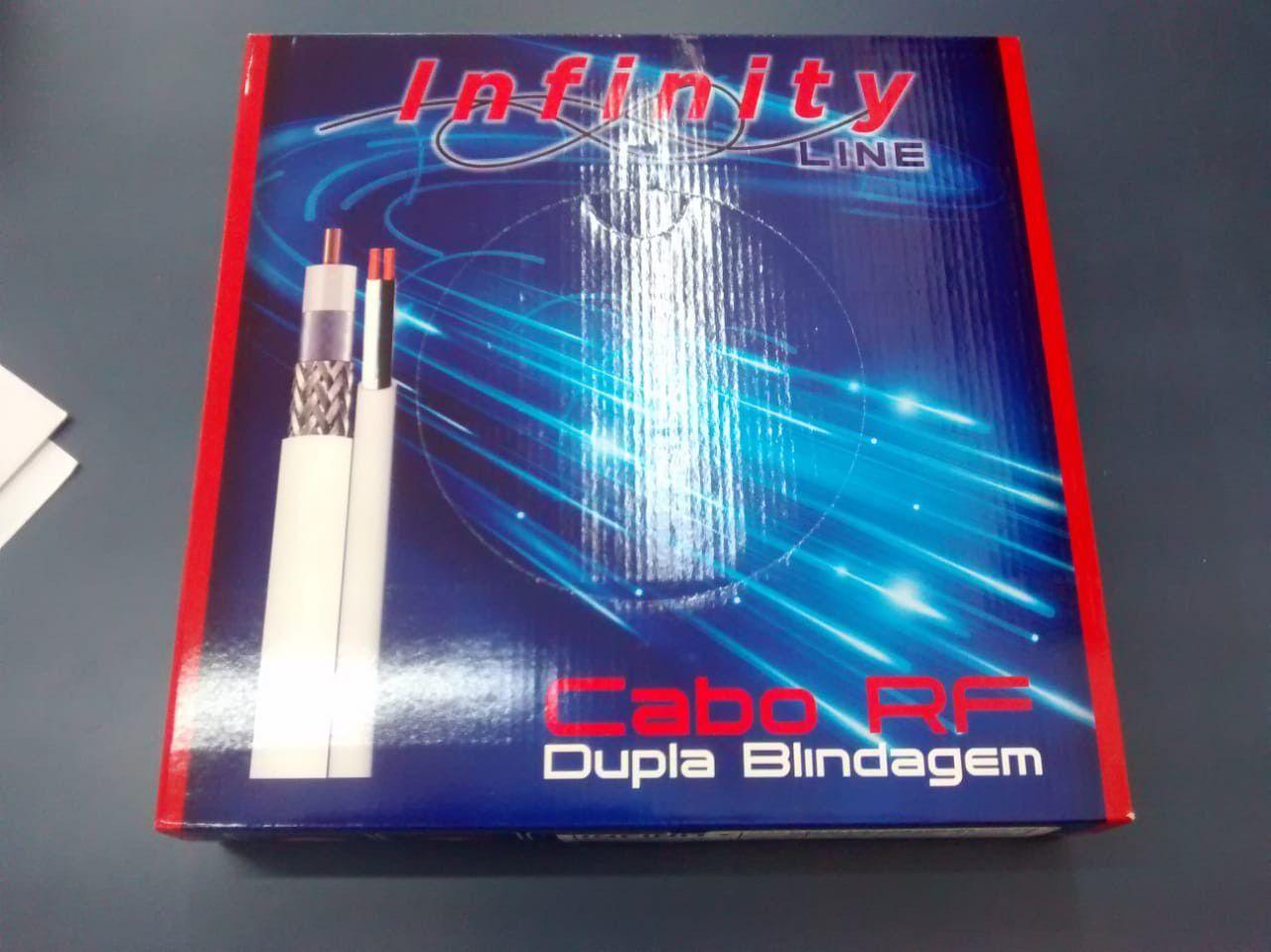 CABO FLEXIVEL RF 4MM + 2 X 26 AWG 95% CMX DUPLA BLINDAGEM