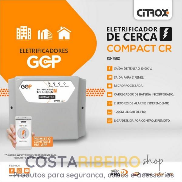 CENTRAL COMPACT CR - ELETRIFICADOR DE CERCA PERIMETRAL