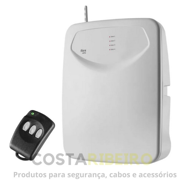 CENTRAL DE ALARME FLEX-1085 C/MOD. WIFI C/TX