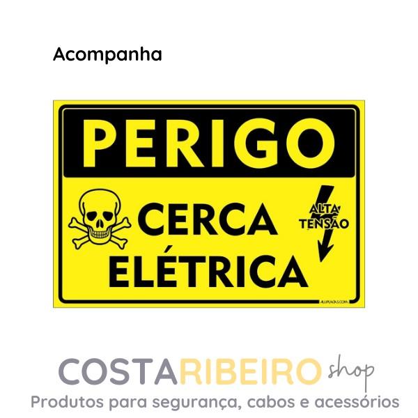 Central De Choque Eletrificador/ Cerca TEM Max 8000