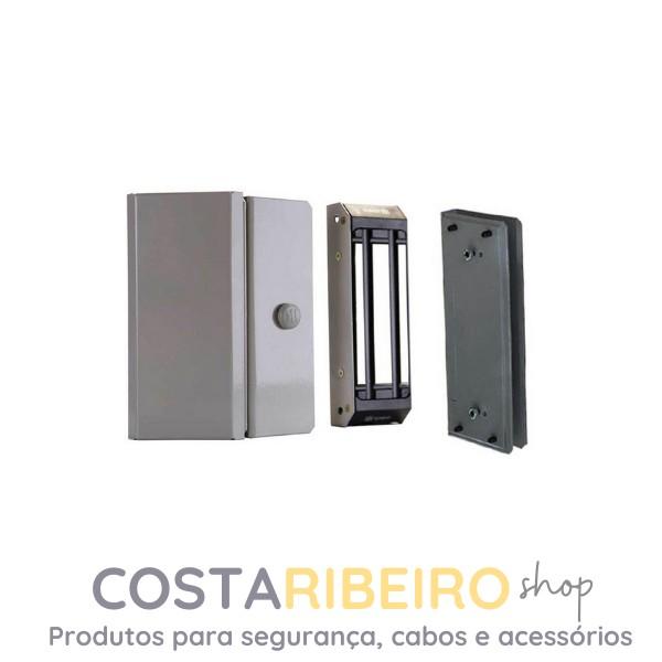 Fechadura Magnética M150 Eco Com Sensor - Cinza