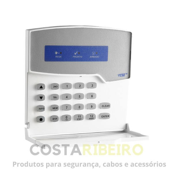 TECLADO LED PARA CENTRAL DE ALARME MONITORADA