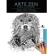 Arte Zen para Colorir