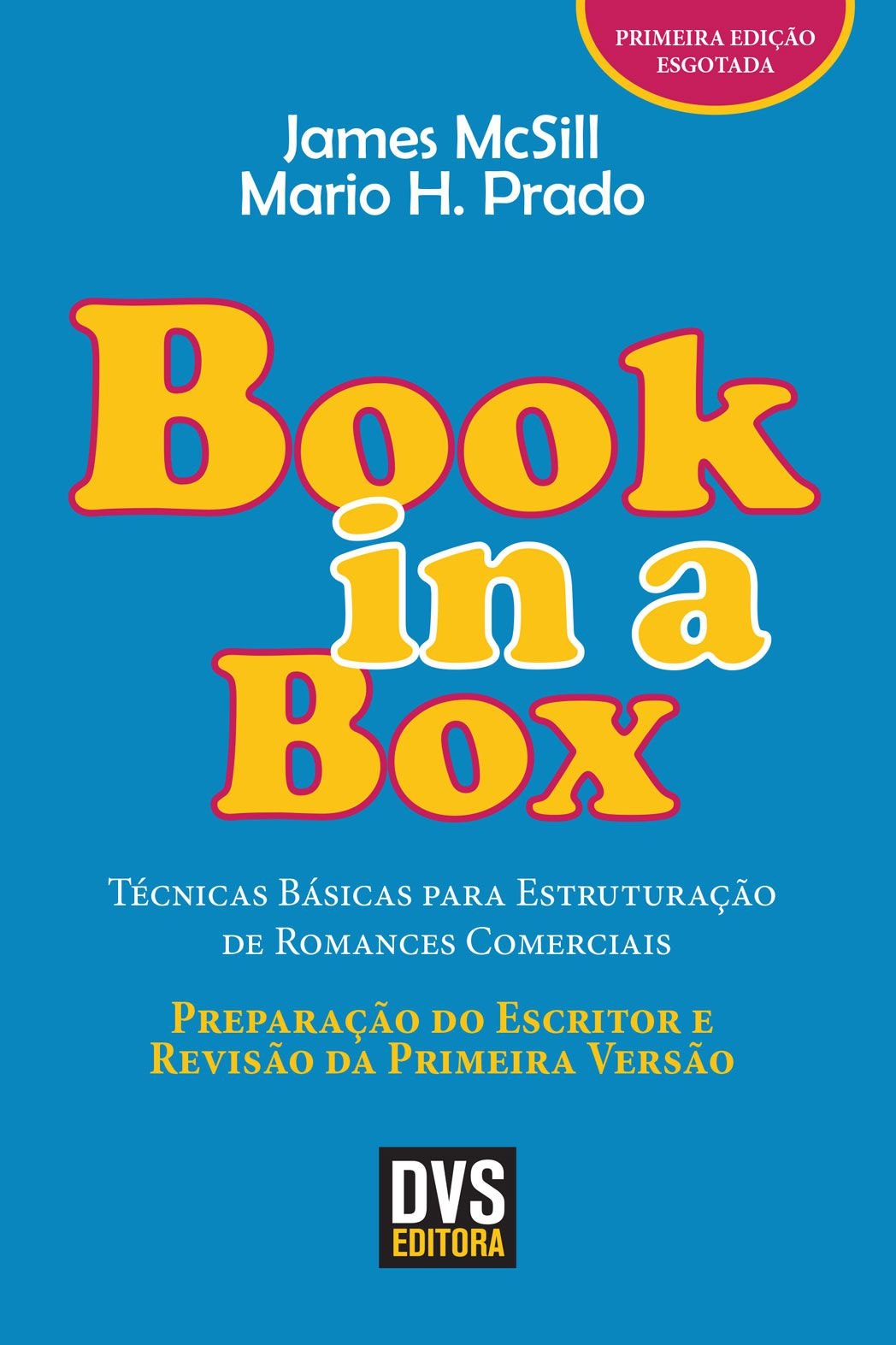 Book in a box - Preparação do Escritor e Revisão da Primeira Versão