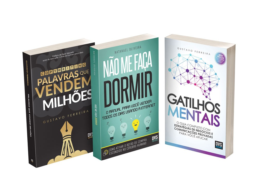 Kit Copywriting com 3 livros