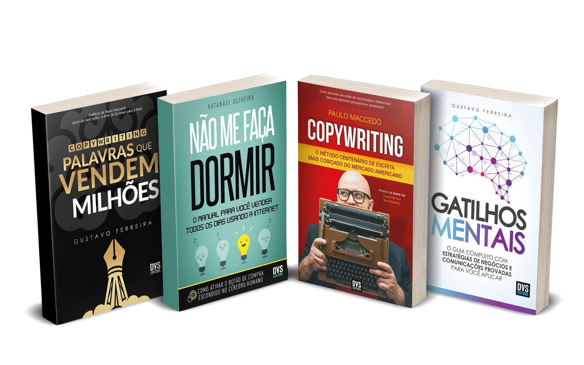 Kit Copywriting com 4 livros - Black Friday