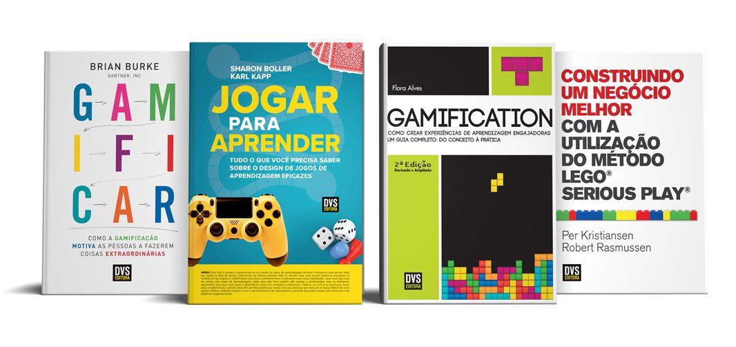 Kit Gamification com 4 livros
