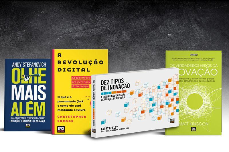 Kit Inovação com 4 livros