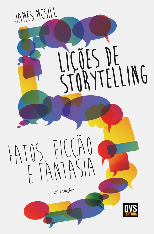 Kit Storytelling com 3 livros