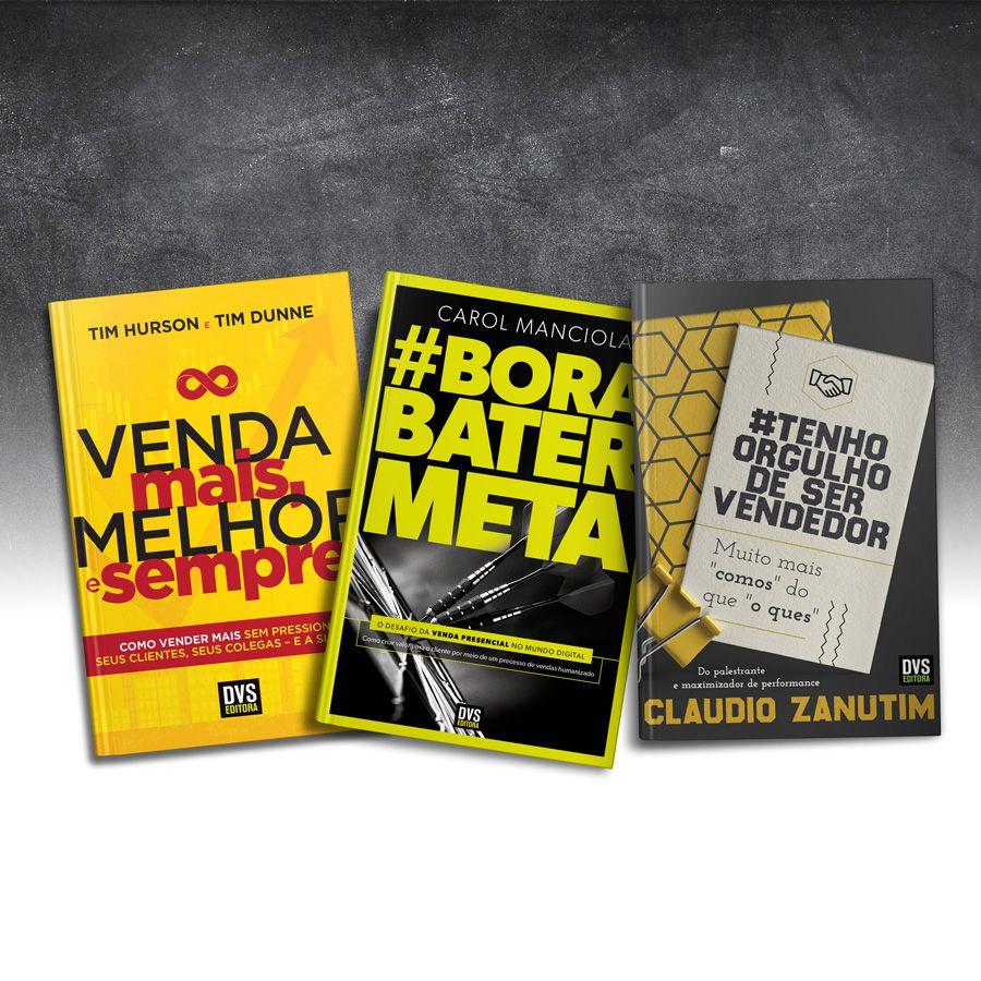 Kit Vendas com 3 livros