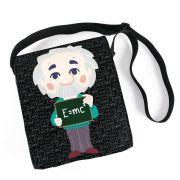 Bolsa Carteiro Albert Einstein Chibi