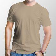 Camiseta Básica Areia - Masculino