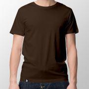 Camiseta Básica Marrom - Masculino
