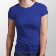 Camiseta Básica Royal - Feminino