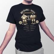 Camiseta Big Bang vs. Deus