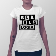 Camiseta BlaBlaLogia Branco